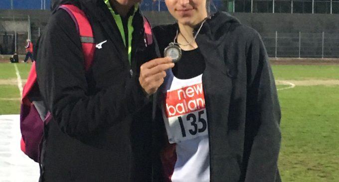 Cerveteri, sport: Loredana Ricci premiata dal CONI con la Palma di Bronzo al Merito Tecnico