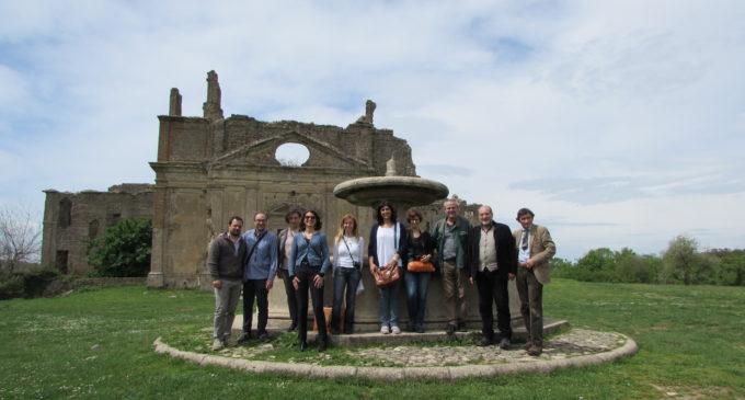 Il 17 Aprile una Delegazione del FAI ha visitato la Riserva Naturale Monterano e l'antico abitato