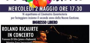 Manziana. Il Cinema Quantestorie festeggia coi cittadini il secondo anno di gestione