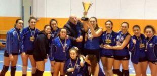 Pallavolo: le ragazze del team volley Lago Bracciano/Anguillara (TVL) vincono la coppia provinciale di categoria under 18 femminile