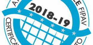 Asd Bracciano Volley vince il prestigioso certificato di qualità 2018/2019 nel settore giovanile