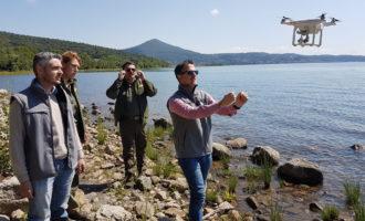 Parco Bracciano-Martignano, Proseguono le attività di monitoraggio del lago con il drone