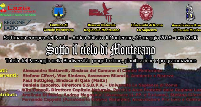 """Canale Monterano: seconda edizione per la conferenza """"Ambiente e  Territorio"""""""