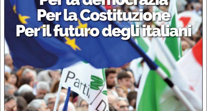 Il PD di Anguillara si mobilita a difesa del Presidente Mattarella