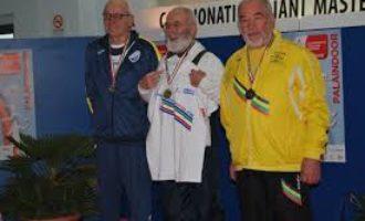 Paolo Benevelli medaglia d'argento nel lancio del Martello