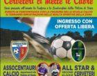 Polizia di Stato e Vecchie Glorie del Calcio di Cerveteri in campo per SMAISOLI