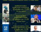 TRE MERCOLEDI' LETTERARI (20 e 27 giugno -4 luglio) alla Sala Cavour (Parlamentino)  Palazzo dell'Agricoltura  a Roma