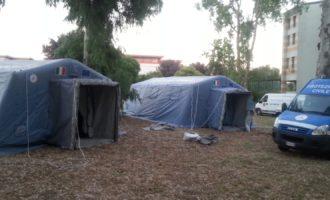 Cerveteri, il Campo Scuola della Protezione Civile raddoppia