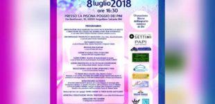 """Al via la quarta edizione di """"Acqua di Rosa"""" l'8 Luglio ore 16,30 ad Anguillara presso la Piscina Poggio dei Pini"""