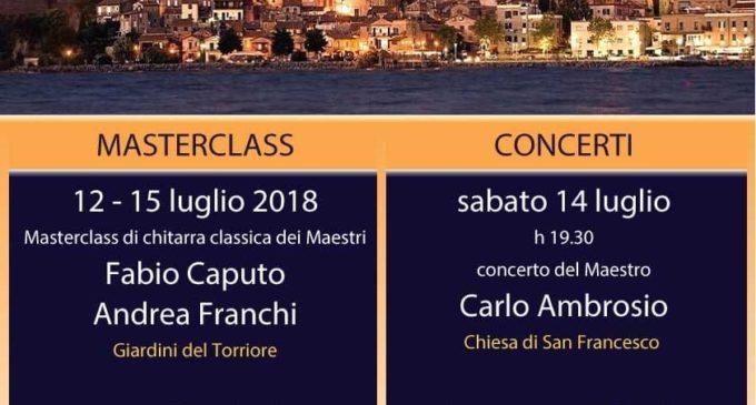 Anguillara: torna il Guitar Festival