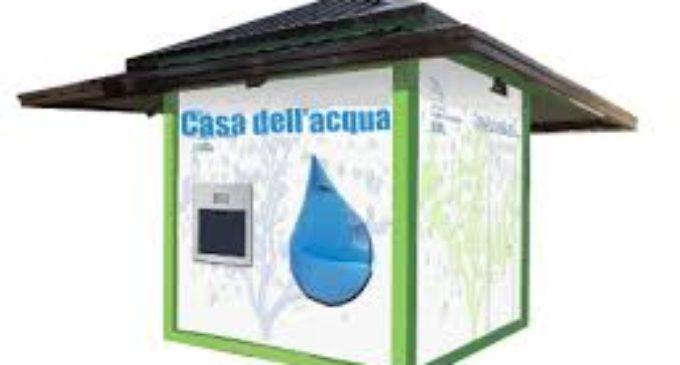 Valcanneto, installata la Casetta dell'Acqua in Largo Giordano