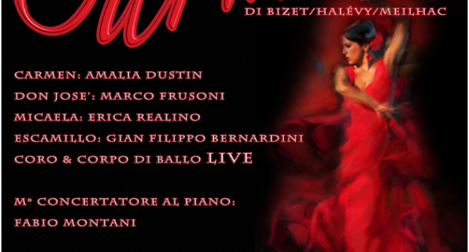 """A Bracciano, a conclusione della rassegna """"Opera sotto le stelle"""" la  """"Carmen"""" di George Bizet."""