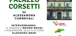 """Alessandra Carnevali domenica 26 agosto 2018ore17.30presso l'Aula Consiliare del Comune di Manziana – presenta il suo libro""""Il giallo di Palazzo Corsetti"""""""