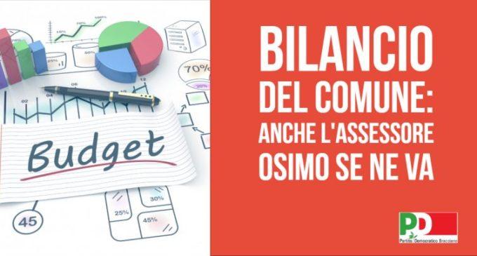 Partito Democratico di Bracciano: bilancio del Comune, anche l'assessore Osimo se ne va…