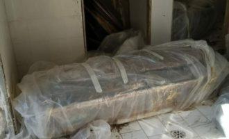 PD di Anguillara: uno scenario raccapricciante  in questi giorni al Cimitero di Anguillara
