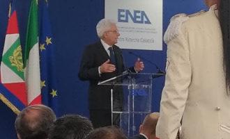 Presidente della Repubblica in visita  il Centro di Ricerca della Casaccia dell'ENEA per sottolineare l'importanza della ricerca applicata.