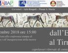 """Cerveteri: da Venerdì 21 Settembre alle 15,00 inaugurazione della mostra """"Capolavori ritrovati"""""""
