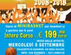 MINIBASKET MANZIANA- stagione 2018-19 al via i corsi di Minibasket