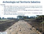 """Bracciano,  Domenica 30 Settembre ore 16.30 conferenza """"Archeologia nel Territorio Sabatino"""""""