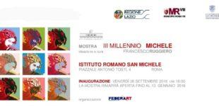 Il 29 Settembre l'Istituto Romano San Michele celebra con una mostra dedicata all'Arcangelo Michele la sua liturgia