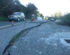 Attenzione: franato un tratto del costone della Via Settevene Palo Nuova, nel tratto che collega Cerveteri a Bracciano