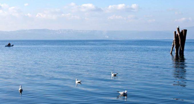 Buona la qualità delle acque del lago