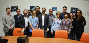 Produzione d'eccellenza a Pomezia, il Sindaco e la Giunta visitano la società Leonardo