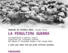 il 26 Ottobre a Trevignano LA PENULTIMA GUERRA – Giornata/evento a ingresso libero al Cinema Palma