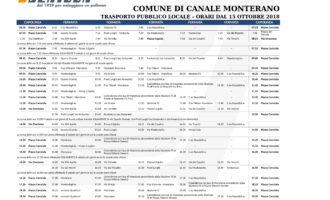 Canale Monterano: dal 15 Ottobre nuova estensione del percorso scuolabus