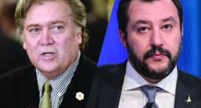 Salvini incontra Bannon: perché non sorprende ed è importante