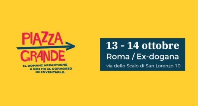 """Zingaretti invita tutte/i a """"Piazza Grande"""" il 13 e 14 Ottobre a Roma"""