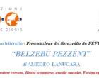 """Invito ad un incontro letterario – Presentazione del libro: """"BELZEBÙ PEZZÉNT""""  di AMEDEO LANUCARA"""