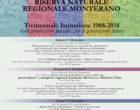Trentennale della Riserva Naturale Regionale Monterano