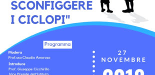 Il 27 Novembre all'istituto Salvo d'Acquisto con L'Agone Nuovo conferenza su bullismo e cyberbullismo