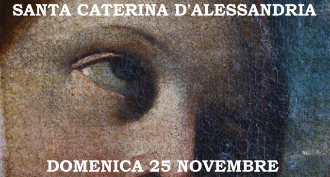 """Bracciano, Duomo cittadino, presentazione del dipinto restaurato """"Santa Caterina d'Alessandria"""""""