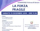 """L'Associazione L'Agone Nuovo presenta la conferenza sulla Violenza di genere Sabato 15 Dicembre 2018 ore 9,00 all' IT """"Salvo D'acquisto"""""""