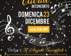 Cerveteri, domenica 23 dicembre il grande concerto natalizio del Gruppo Bandistico Caerite