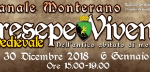 a Canale Monterano il Presepe Vivente Medievale 26 e 30 Dicembre 2018 e il 6 Gennaio 2019 dalle 15,00 alle 19,00
