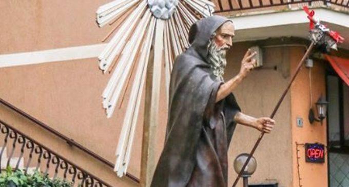ad Anguillara festa per Sant'Antonio