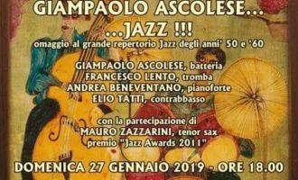Cerveteri, al Granarone Giampaolo Ascolese omaggia il grande Jazz