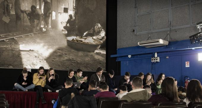 Domani presso il cinema Quantestorie di Manziana quarta lezione di alternanza scuola lavoro del progetto Plurals.