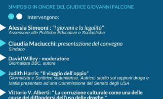 """Sabato 2 Marzo a Trevignano """"Le mafie e la droga"""" simposio in onore del giudice Giovanni Falcone"""