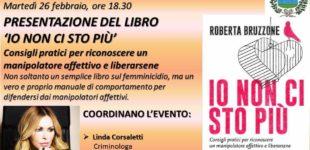 Cerveteri, la criminologa Roberta Bruzzone presenta 'Io non ci sto più'