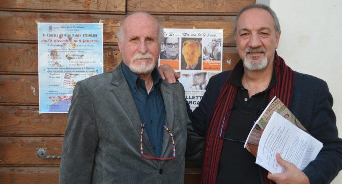 """Cerveteri, rassegna Pasolini: grande successo per l'incontro con il regista De Camillis. Sabato il """"bis"""" con 'Accattone'"""
