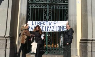 A Bracciano manifestazione contro l'amministrazione, le dichiarazioni degli organizzatori