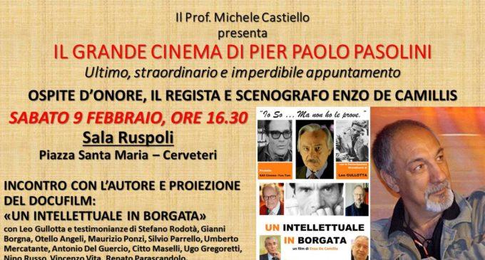 Cerveteri, Pasolini rivive con 'Un intellettuale in Borgata' con la maestria di Leo Gullotta