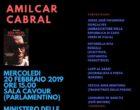 """Biblioteca Storica Nazionale dell'Agricoltura, il 20 Febbraio presentazione del libro: """"Rosa Negra. Venti poesie per un mondo migliore"""" di Amilcar Cabral"""