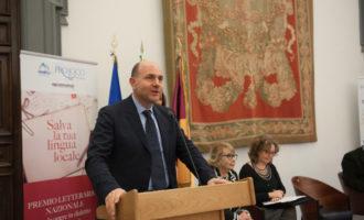 """La premiazione della sezione """"Scuola"""" si è tenuta oggi a Roma, in occasione della """"Giornata internazionale della Lingua Madre"""", promossa dall'Unesco"""