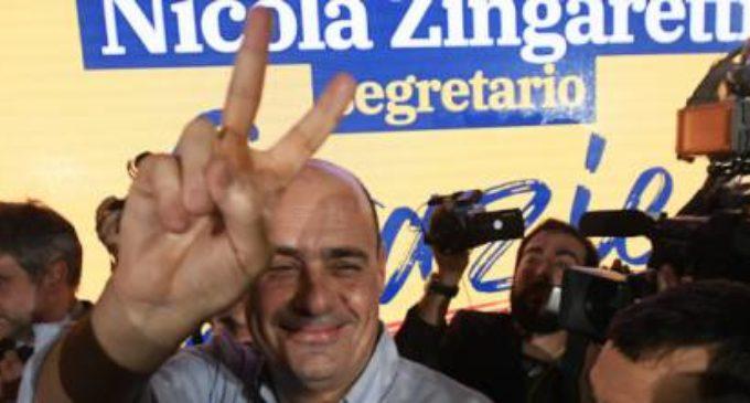Zingaretti vince con ampio margine: è il nuovo segretario del Partito Democratico