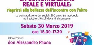 Convegno: la comunicazione virtuale e reale, intervento del prof. Agresti